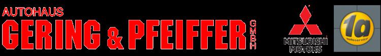 Autohaus Gering & Pfeiffer Logo